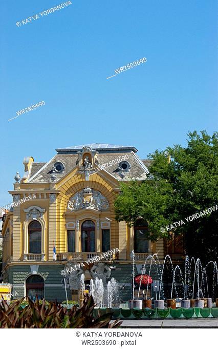 Serbia, Vojvodina, Subotica, City Library