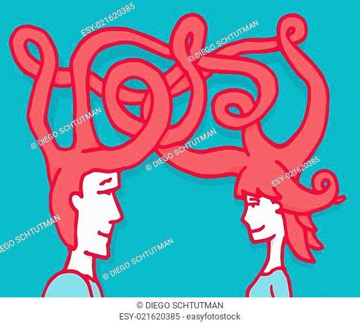 Love mind communication