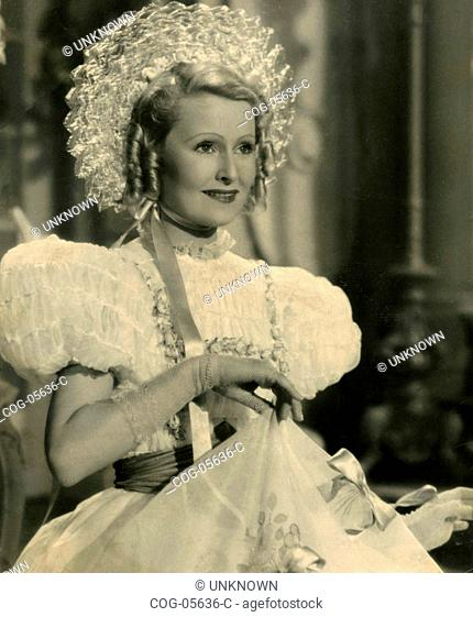 German actress Lilian Harvey in the film Serenade