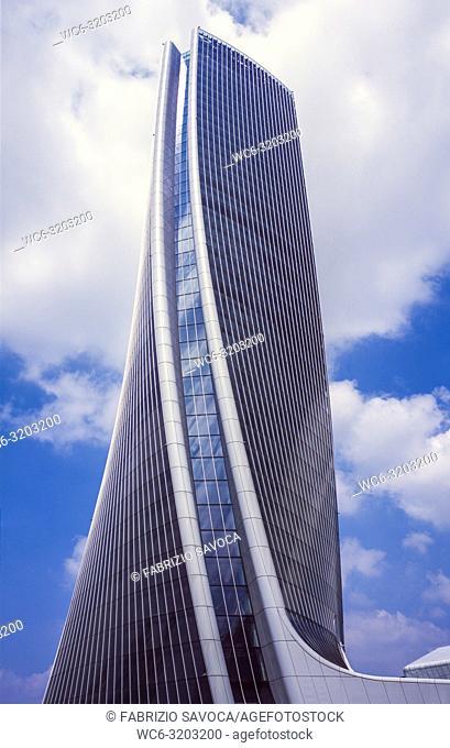 Generali Tower, Milan, Lombardy, Italy