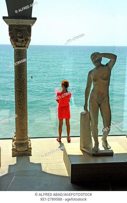 Palau Maricel, noucentista artistic set, Sitges, Catalonia, Spain