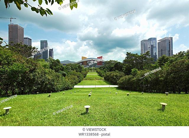 Shenzhen Civic Center Landscape