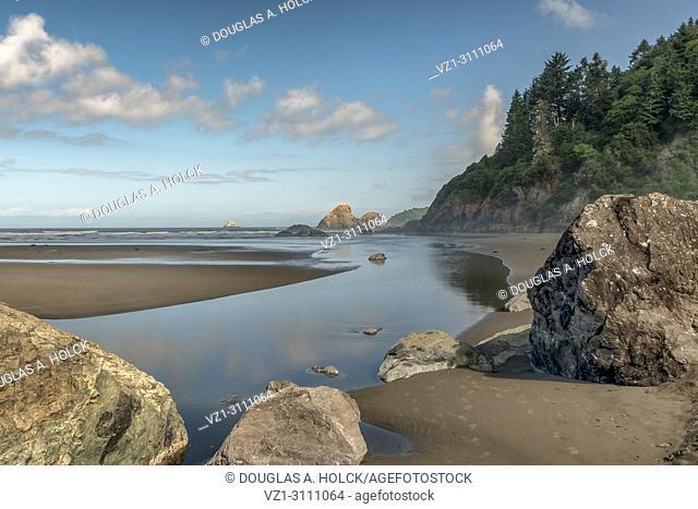 Moonstone Beach along Costal Highway 101, Trinidad CA, USA