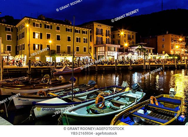 The Port At Torbole, Lake Garda, Italy