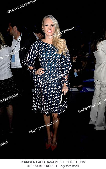 Carrie Underwood in attendance for PROJECT RUNWAY Season 14 Finale Show, The Arc - Skylight At Moynihan Station, New York, NY September 11, 2015