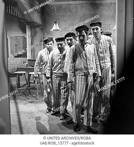 Das Strafquartett - Ein Knastical, Musikfernsehfilm, Deutschland 1965, Regie: Georg Wildhagen, Szenenfoto