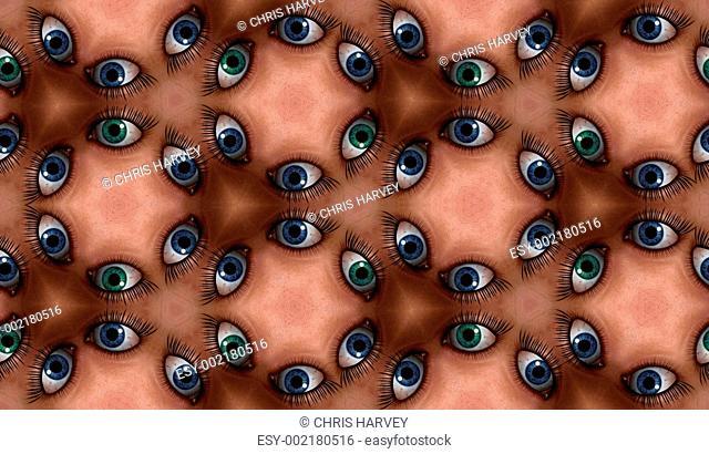Eye Tile Pattern