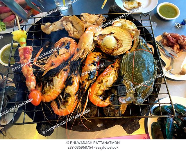 BBQ seafood is a food that most people like to eat