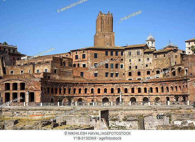 Trajan's Market or Mercati di Traiano, Rome, Italy