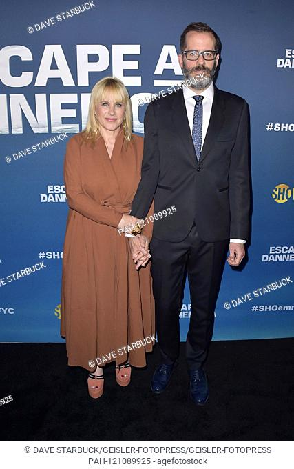 Patricia Arquette with friend Eric White at the 'EMMY for Your Consideration' event of the Showtime mini-series 'Escape at Dannemora' at NeueHouse Hollywood