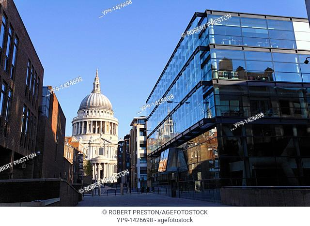 St Paul's cathedral, London, UK