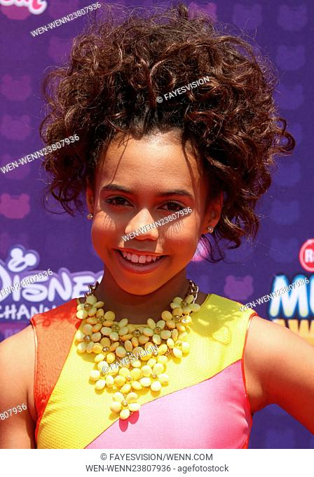 2016 Radio Disney Music Awards at the Microsoft Theater - Arrivals Featuring: Asia Monet Ray Where: Los Angeles, California