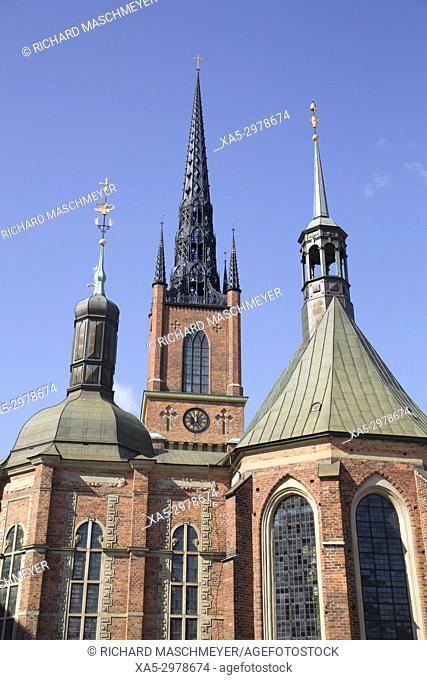 Riddarholmen Church, Gamla Stan, Stockholm, Sweden