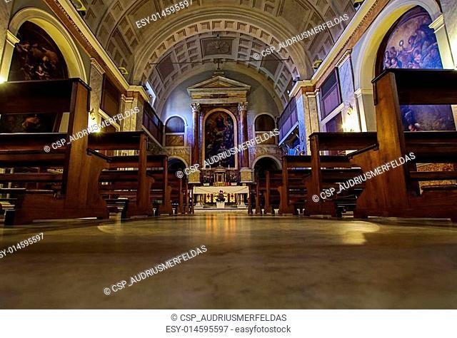 San sebastiano al palatino church i