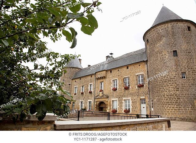 Castle in Echelle, France