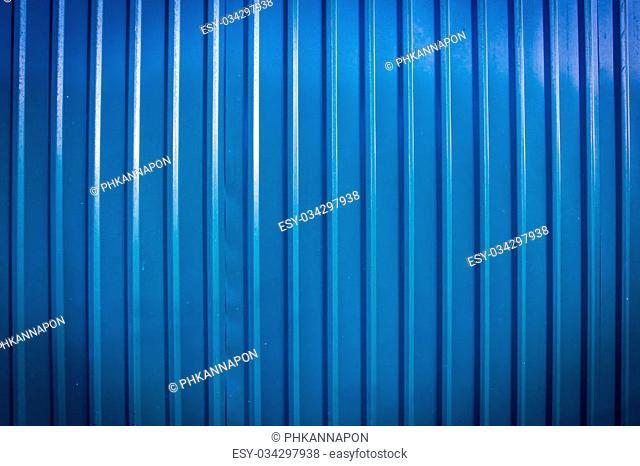 blue zinc background