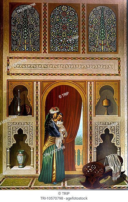 Sidi Yusuf Adami House Room for the Wet Nurse Cairo Egypt 17th Century