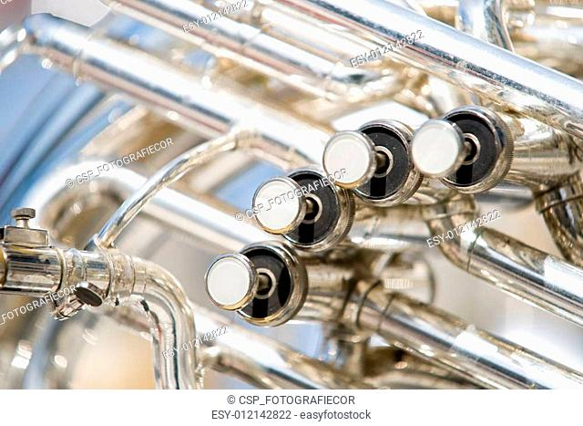 Details from a showband, fanfare ou