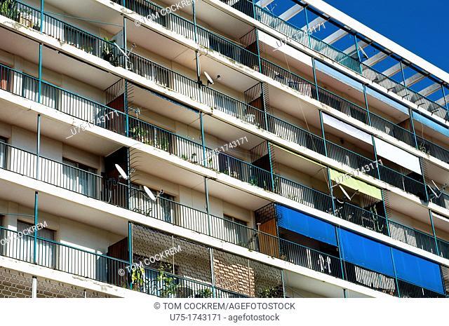 Apartment block, Antananarivo, Madagascar