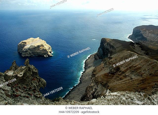Ascension, Ascension Island, coast, cliffs, volcano, rock, cliff, sea, island, isle, boatswain Island, louise's ledge