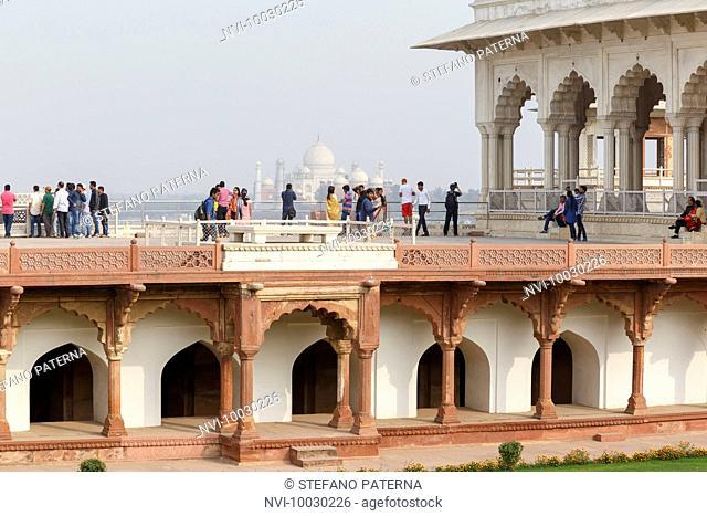 Argra Fort, Agra, Uttar Pradesh, India