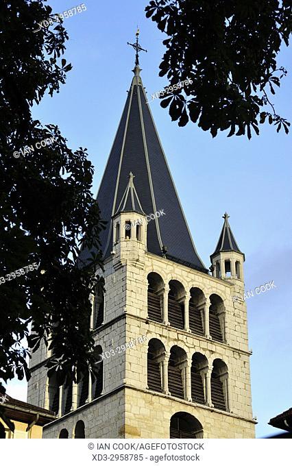 Notre Dame de Liesse Church, old town, Annecy, Haute-Savoie department, Auvergne-Rhône-Alpes, France