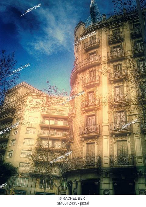 Modernism Building, Diagonal Avenue, Barcelona, Catalonia