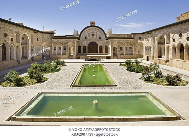 Iran, Kashan, Tabatabaei house