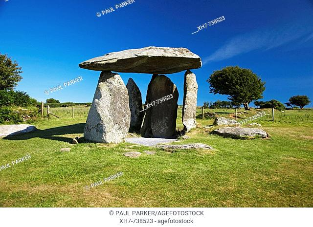 Pentre Ifan, Neolithic Burial Chamber, Pembrokeshire, Wales, UK