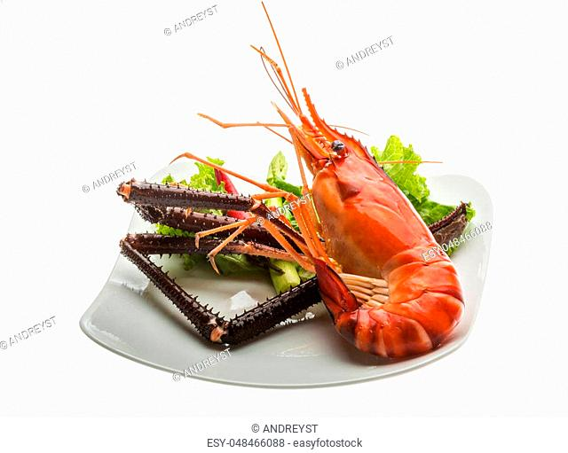 Giant freshwater prawn Stock Photos and Images | age fotostock