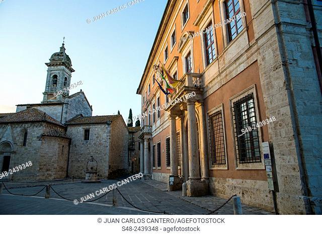San Quirico D'orcia. Tuscany, Italy