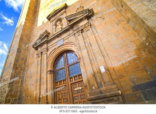 Basilica of Nuestra Señora de los Milagros, 16th Gothic-Renaissance Style, Ágreda, Soria, Castilla y León, Spain, Europe