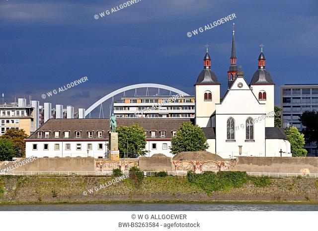 Alt St. Heribert monastery church, Germany, North Rhine-Westphalia, Cologne