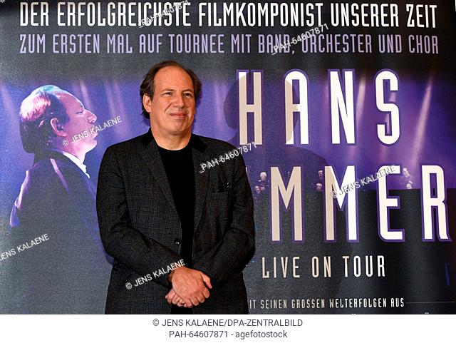 Hans Zimmer pictured at the Kino Zoo Palast cinema in Berlin, Germany, 21 December 2015 According to Oscar winner Zimmer