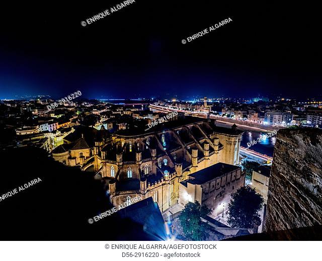 Cathedral, Tortosa, tarragona province, Catalonia, Spain