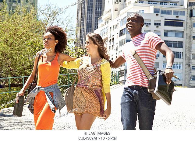 Students, Rio de Janeiro, Brazil