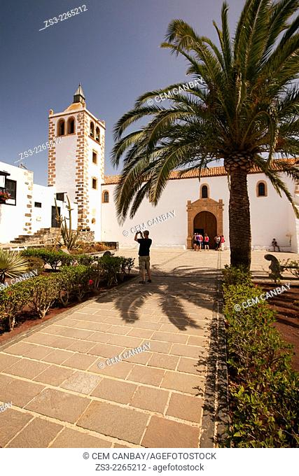 Cathedral of Santa Maria de Betancuria, Betancuria, Fuerteventura, Canary Islands, Spain, Europe