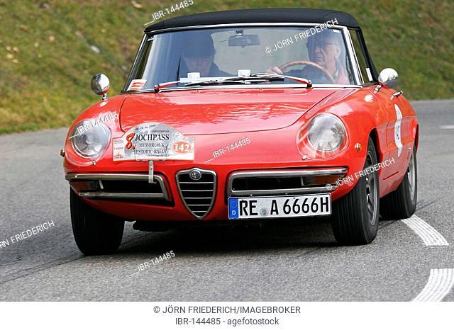 Alfa Romeo Duetto 1750, built 1969