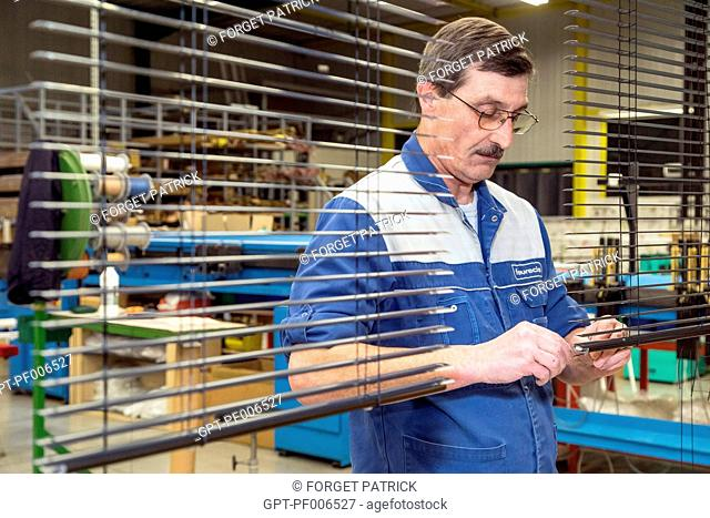 EMPLOYEE OF THE SODICLAIR COMPANY, MANUFACTURERS OF BLINDS, METAL CURTAINS AND ROLLER SHUTTERS, BONNEVAL, (28), FRANCE
