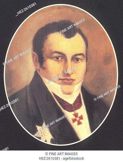 Baron Paul Ludwig Schilling von Cannstatt (1786-1837), First quarter of 19th cen. Artist: Anonymous