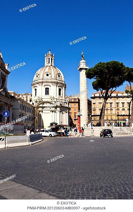 Facade of a church, Rome, Lazio, Italy