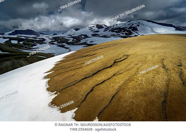 Landmannalaugar, Central Highlands, Iceland Mt. Torfajokull area, Landmannalaugar, Central Highlands Iceland