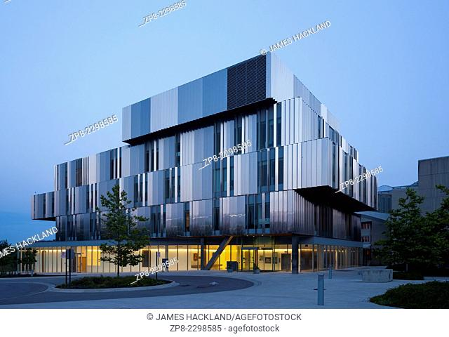 The Terrence Donnely Health Sciences Complex at the U of T Mississauga campus in Mississauga, Ontario, Canada