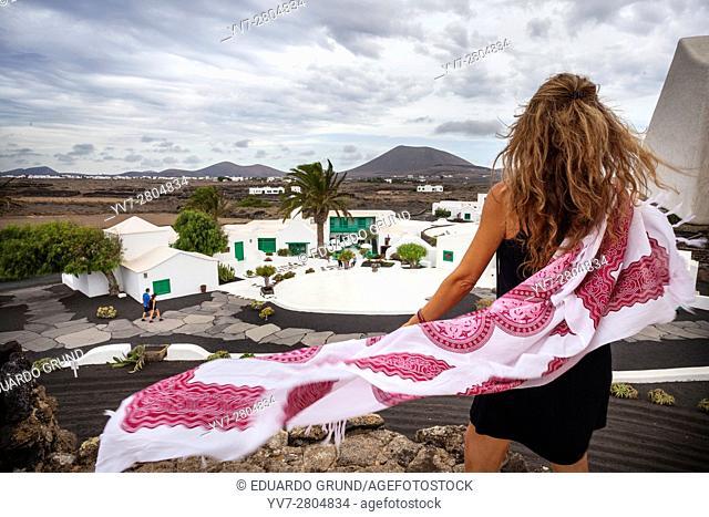 Monument to the Peasant. Lanzarote islands, Las Palmas, Canary, Spain