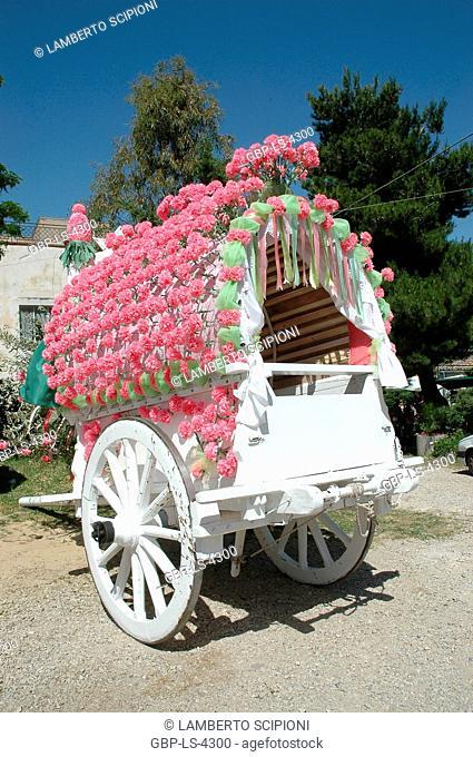 Festival of San Pardo, 2011, memory, rites, popular parties, Larino, Molise, Italy