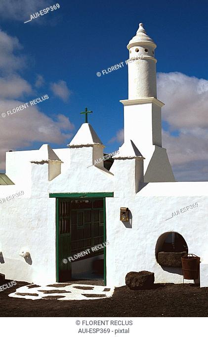 Spain - Canary Islands - Lanzarote - Peasant' house Manrique