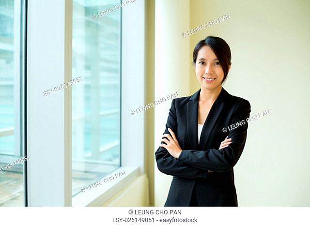 Asian Businesswoman at office