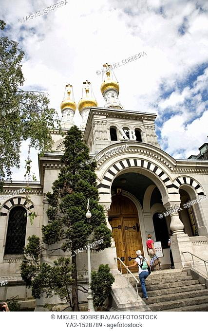 Cathédrale de l'Exaltation de la Sainte Croix - Russian Church in Geneva
