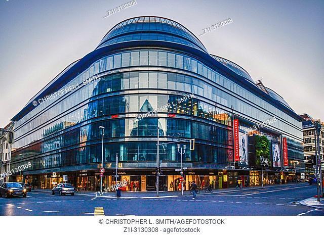 Gallerie Lafayette shopping mall on Freidrichstrasse in Berlin, Germany