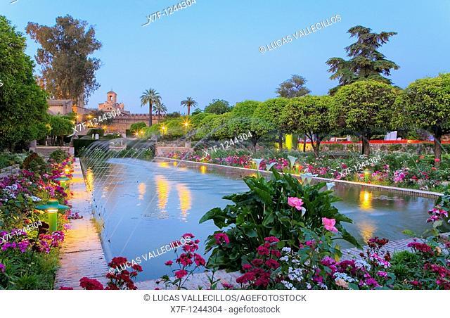 Cordoba Andalusia  Spain: Alcazar of the Christian kings  Gardens